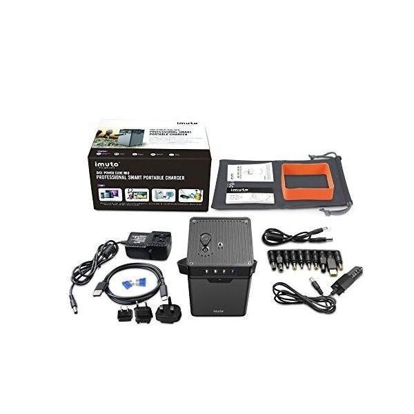 iMuto M10 ポータブル電源 372Wh/100500mAh 大容量バッテリー USB&DC&AC出力 正弦波 バックアップ用予備電源 家庭用蓄電池 100Wインバーター付|healthysmile|07