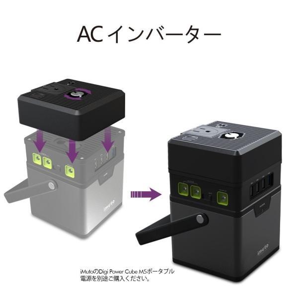 iMuto M5 182Wh/50000mAh ポータブル電源 大容量バッテリー 家庭用 蓄電池 USB&DC&AC 出力対応緊急・災害時バックアップ用予備電源100Wインバーター付|healthysmile|11