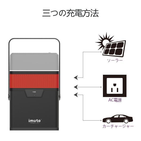 iMuto M5 182Wh/50000mAh ポータブル電源 大容量バッテリー 家庭用 蓄電池 USB&DC&AC 出力対応緊急・災害時バックアップ用予備電源100Wインバーター付|healthysmile|06