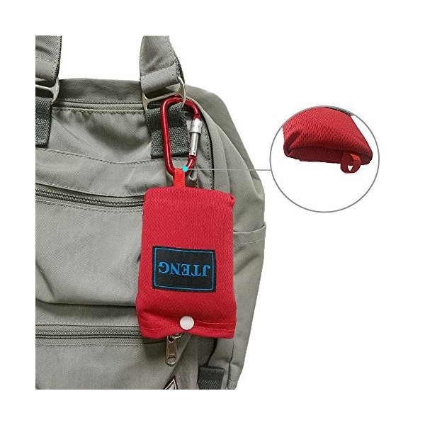 JTENG レジャーシート 防水 軽量 折りたたみ式 グランドシート コンパクト ポケットレジャーシート 携帯 手のひらサイズ 160×110cm|healthysmile|06