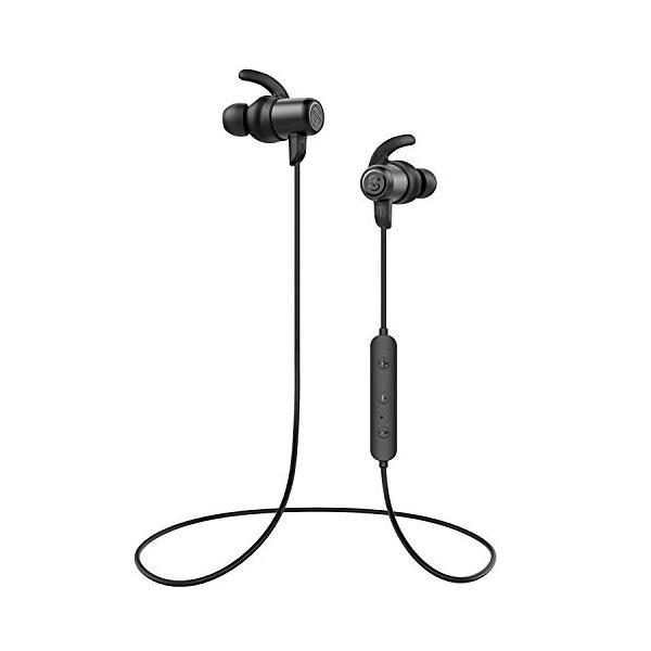 訳アリ ワイヤレスイヤホン アウトレット SoundPEATS(サウンドピーツ) Bluetooth イヤホン Q35 PRO AAC & APT-Xコーデック対応 高音質・低遅延 ブラック healthysmile