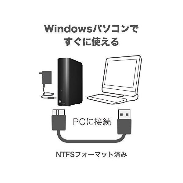 WD HDD 外付けハードディスク 6TB Elements Desktop USB3.0 WDBBKG0060HBK-JESN healthysmile 04