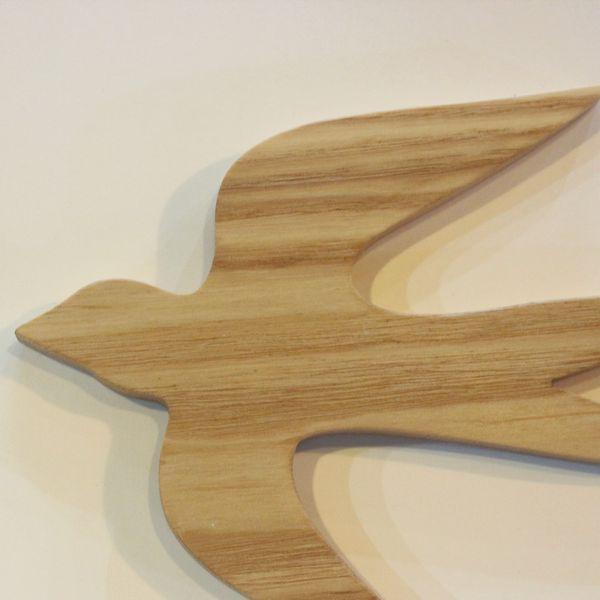 つばめオーナメント M×Sセット  ツバメ 春 1,000円ポッキリインテリア 無垢 木製 北欧 ガーランド デコレーション 壁 バード 鳥|heart-box|07