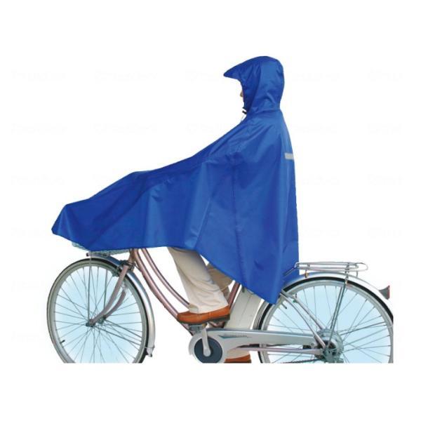 車椅子用  車いす レインコート カッパ 梅雨 カイテキプラス レインポンチョ / 76552|heartcare|02