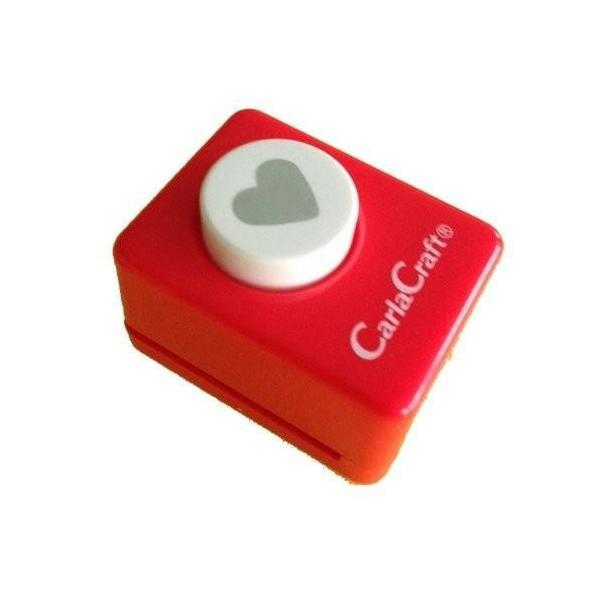 直送品 代引き不可 Carla Craft(カーラクラフト) クラフトパンチ(小) ハート CP-1 4100641 ご注文後3〜4営業日後の出荷となります