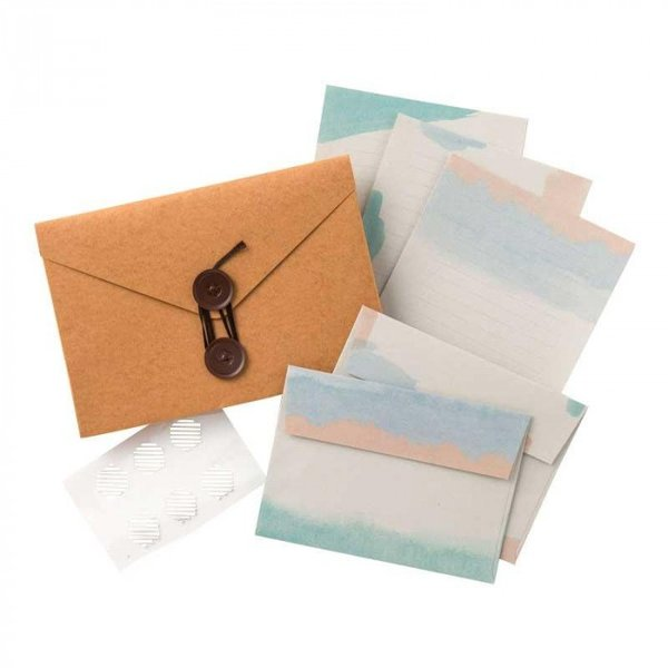 直送品 代引き不可 Carry Letter レターセット BEACH PCL-03 ご注文後2〜3営業日後の出荷となります