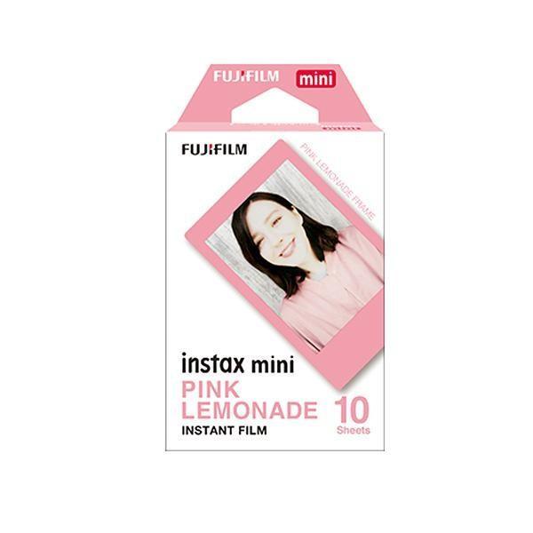 FUJIFILM instax mini チェキ用フィルム 絵柄入りフレームタイプ ピンクレモネード 10枚入