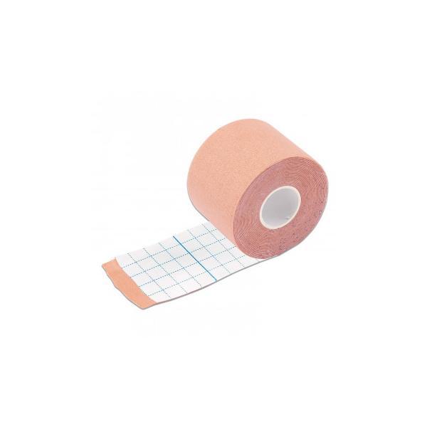 伸縮式テーピングテープ 5m  手首 50mm 5m巻 関節 足首 腰 膝 テーピング