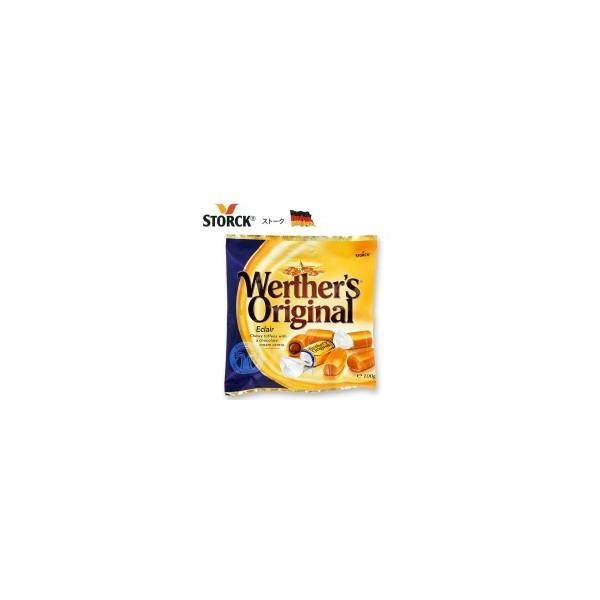 ストーク ヴェルタースオリジナル エクレア 100g×24袋セット ドイツ 飴 ソフトキャンディ ほろ苦い なめらか チョコレートクリーム