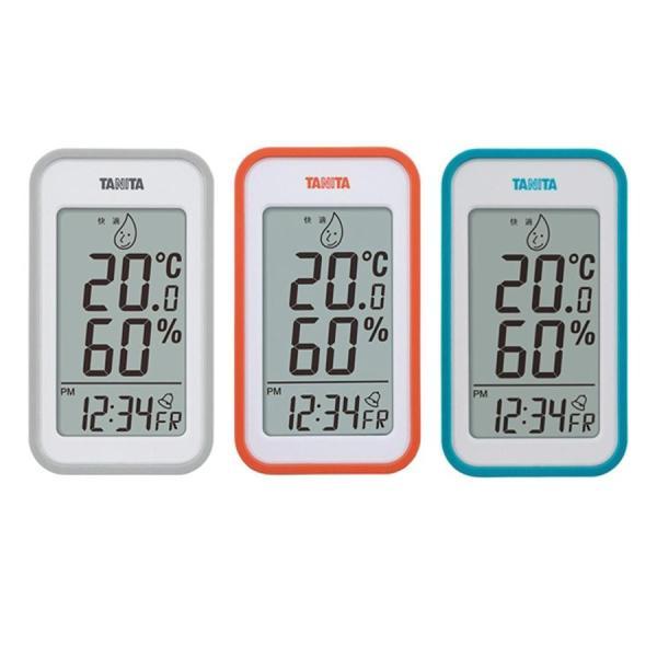 TANITA タニタ デジタル温湿度計 TT-559 おしゃれ 置き時計 室内 デジタル時計 温度計