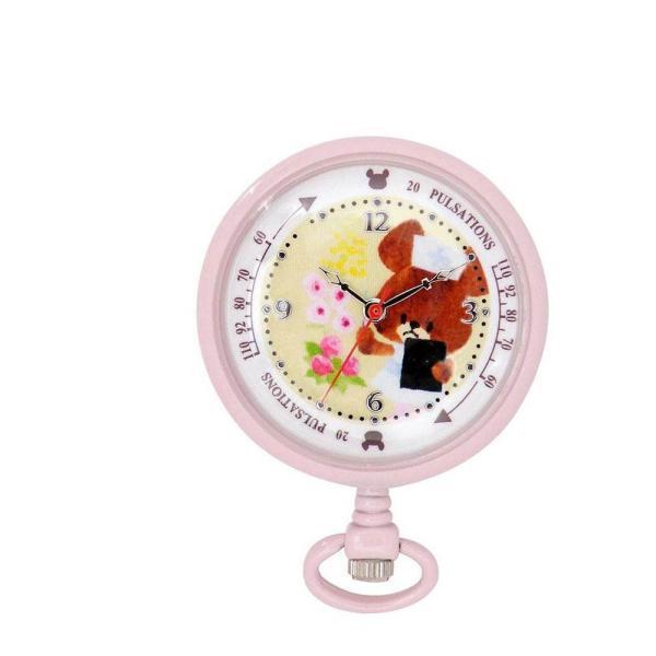 くまのがっこう2WAYウォッチ ジャッキーナース ST-CK0003 電池 保育 かわいい グッズ 時計