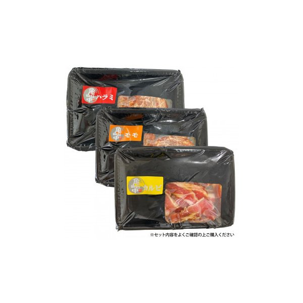 亀山社中 焼肉 バーベキューセット 4 はさみ・説明書付き カルビ お肉 モモ ハラミ 牛肉 常備食 イベント タレ漬け BBQ