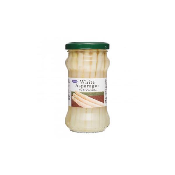 Norlake(ノルレェイク) ホワイトアスパラガス(ショート) 瓶詰 190g×12個