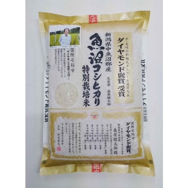 令和2年産 桑原健太郎さん作 新潟県産 魚沼コシヒカリ 2kg
