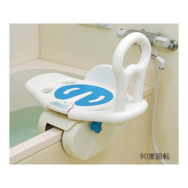 ユニトレンド 回転バスボード BBK-001 入浴いす シャワーチェア 介護 椅子 風呂 シャワーベンチ 浴槽台介護 浴槽台 バスボード 移乗 入浴介助|heartpenguinshop|02