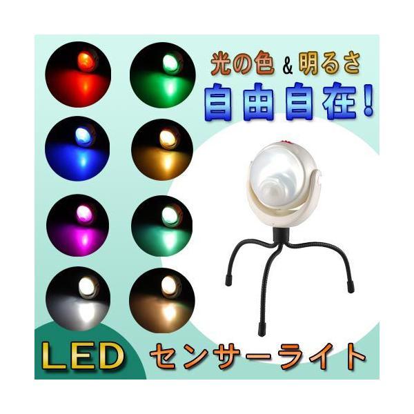 ■ライテックス LED どこでもセンサーライト ASL-095 調色調光式