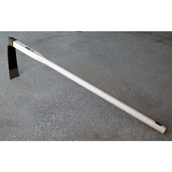 播州三木産 高級鍛造 たけのこ掘りバチ鍬くわ1200ミリ柄 #N318