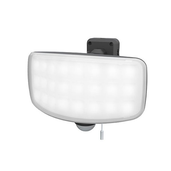 ライテックス LED-AC1027 27Wワイドフリーアーム式LEDセンサーライト コンセント式 2200ルーメン RITEX