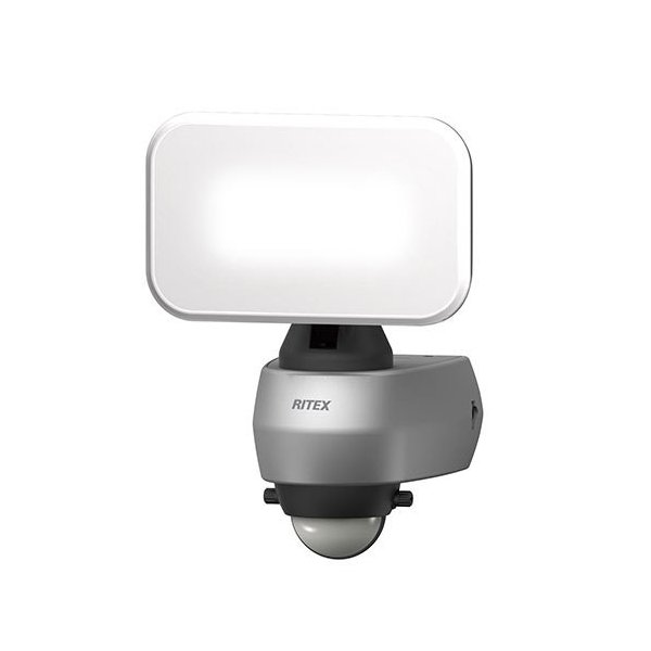 ライテックス LEDセンサーライト LED-AC309 9Wワイド 明るさ650ルーメン コンセント式 ふんわり照らすスタンダード機 RITEX