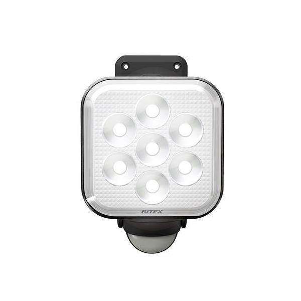 ライテックス LED-AC1011 11W×1灯 フリーアーム式 LEDセンサーライト 電源式 明るさ1000ルーメン 照明 RITEX