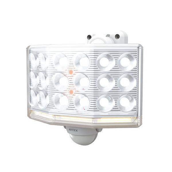 ライテックス LED-AC1018 センサーライト100V LED18Wワイド×1灯 フリーアーム式
