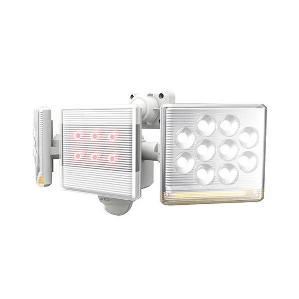 ライテックス LED-AC2030 センサーライト100V LED12W×2灯 フリーアーム式