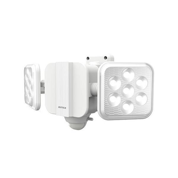ライテックス LED-270 センサーライト 乾電池式 LED5W×2灯 フリーアーム式 明るさ900ルーメン