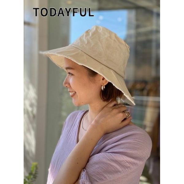 TODAYFUL トゥデイフル  Parraffin Bucket Hat  20春夏予約2  12011039 帽子パラフィンバケットハット 2020ss