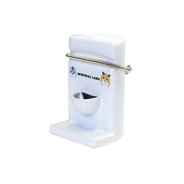 ハムちゃんのコーナー置き型給水タンク/小動物用給水器 給水ボトル 水入れ 陶器 ハムスター マルカン MARUKAN