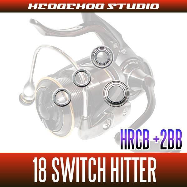 18スイッチヒッター LBD,SH-LBD用 MAX8BB フルベアリングチューニングキット 【HRCB防錆ベアリング】