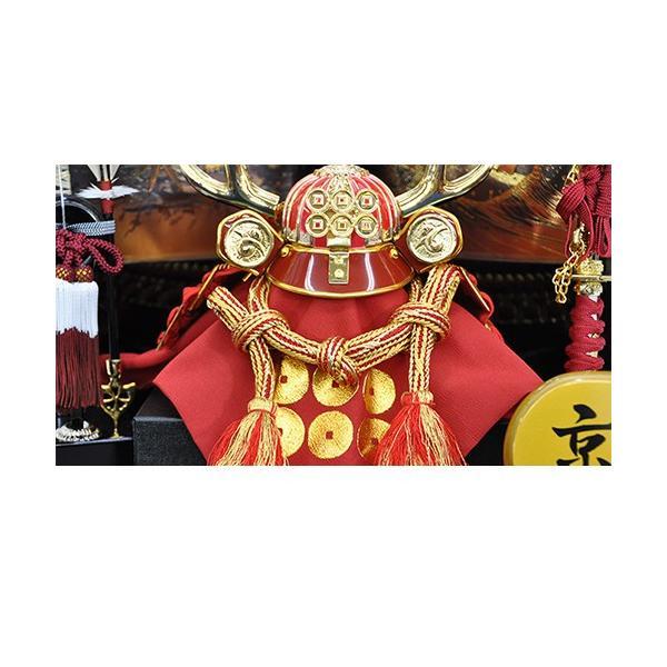五月人形 真田幸村 兜 コンパクト 収納飾り 兜飾り 平田雅山作 人形の平安大新 hm12051|heiandaishin|06