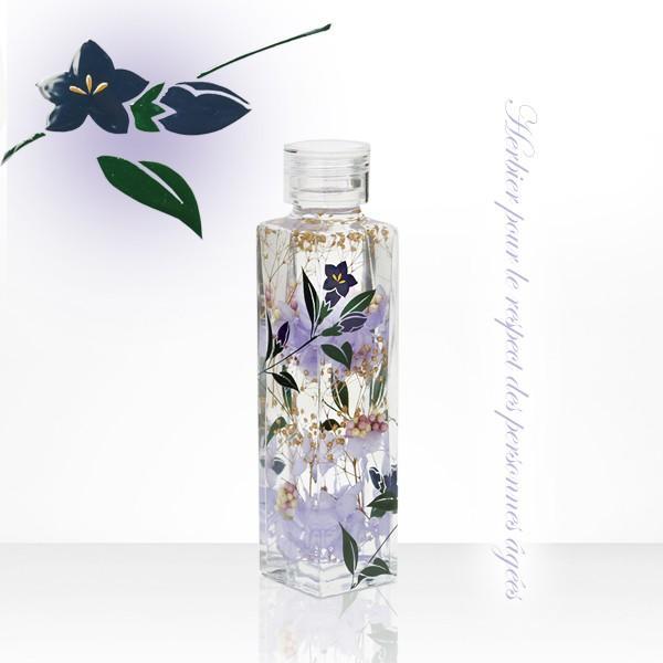 蒔絵ハーバリウム 紫の華