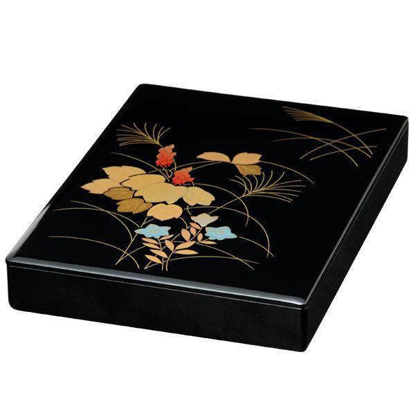 漆器 山田平安堂 手文庫 秋草 文箱/漆器/塗り|heiando