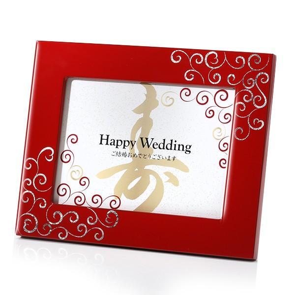 写真立 プラチナハート フォトスタンド フォトフレーム 結婚祝い ブライダル プレゼント|heiando|05