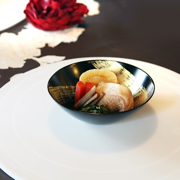 取鉢揃 龍呼(5枚組) 和食器/取り鉢/漆塗り|heiando