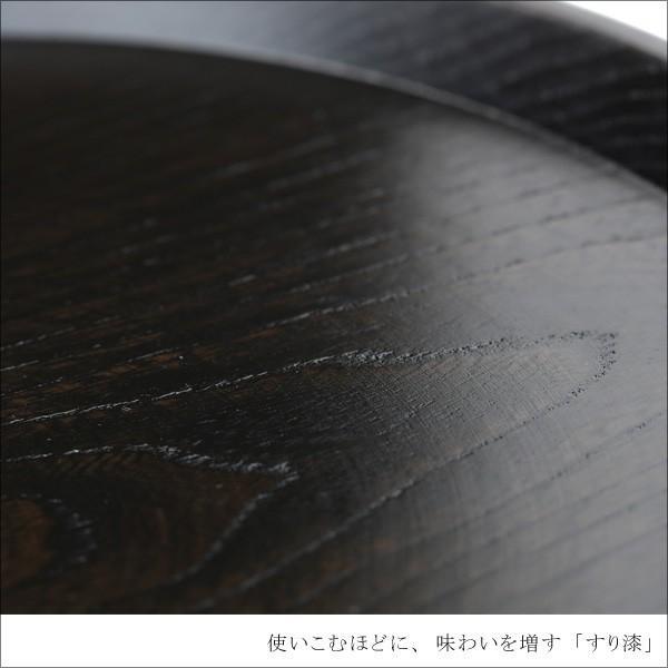 丸盆 神代すり(尺) お盆/木製/漆塗り|heiando|03