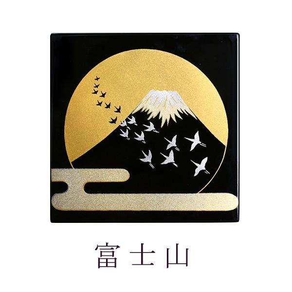 賽 富士草花 漆器/蒔絵/置物/インテリア|heiando|03
