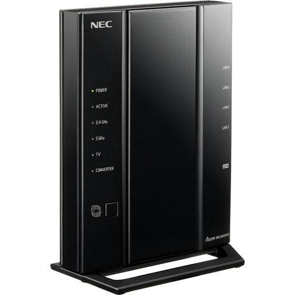 Nec Aterm WG2600HP3 PA-WG2600HP3 11ac対応 1733+800Mbps 無線LANルータ 代引き対応|heiwashop