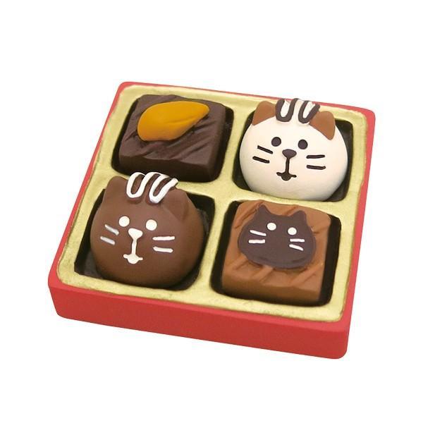 【12月/中旬】予約販売 猫ショコラBOX デコレ コンコンブル 2020 バレンタイン −ショコラ ド コンブル−|heliosholding|03