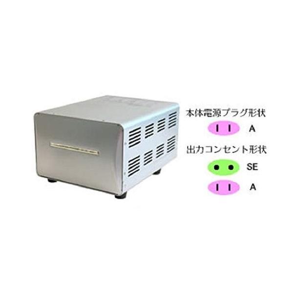 カシムラ 海外国内用大型変圧器 220-240V/3000VA Aプラグ対応Kashimura アップダウントランス(大型タイプ) WT-1|hello-2017|02