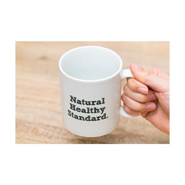 Natural Healthy Standard ロゴ入り マグカップ (グリーン)|hello-2017