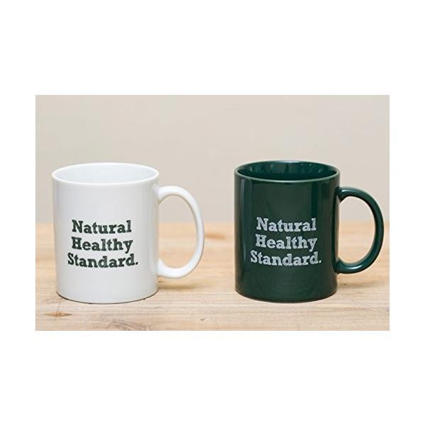 Natural Healthy Standard ロゴ入り マグカップ (グリーン)|hello-2017|02