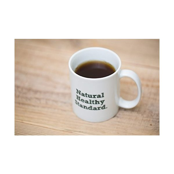 Natural Healthy Standard ロゴ入り マグカップ (グリーン)|hello-2017|03