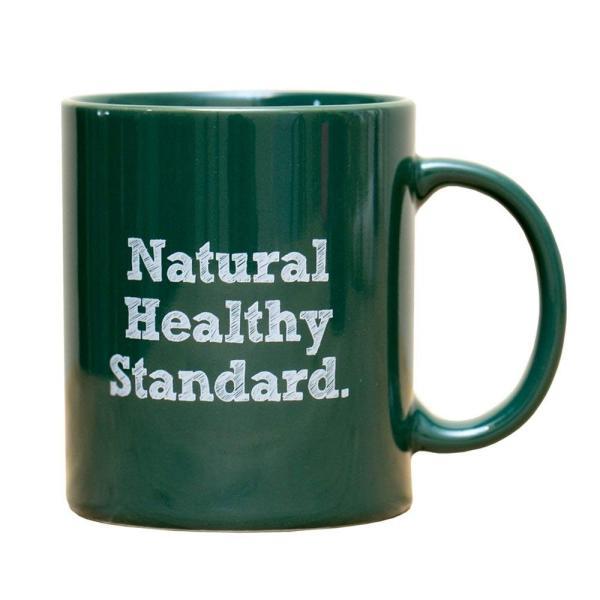Natural Healthy Standard ロゴ入り マグカップ (グリーン)|hello-2017|04