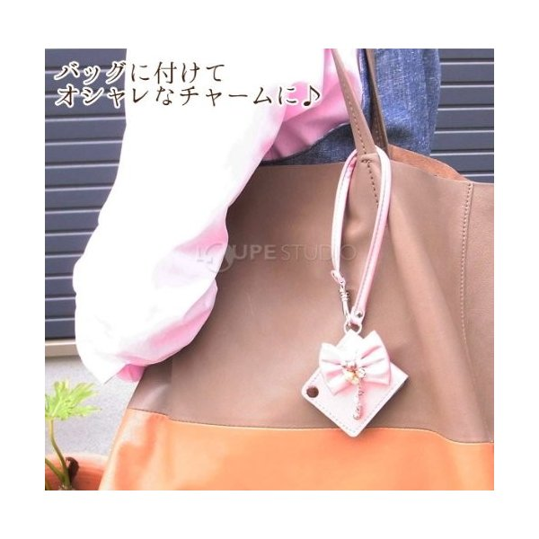 スライドルーペ付バッグチャーム KA-04 スライドルーペ ポケットルーペ バッグチャームこのページは「シャンパンゴールド」のみの販売ですシ