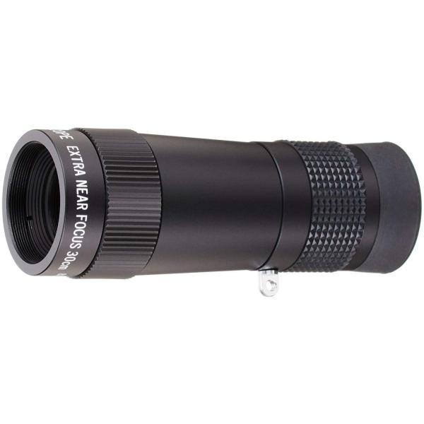 MIZAR-TEC 単眼鏡 8倍20ミリ口径 至近距離・小型タイプ ケース付き 日本製 ブラック SD-70