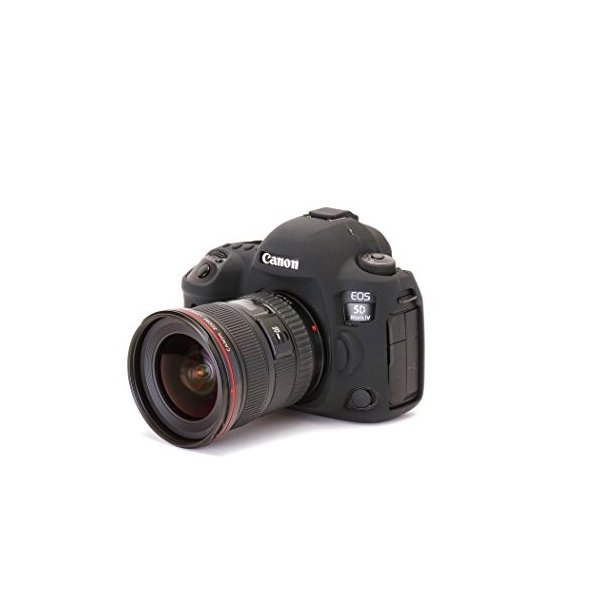 DISCOVERED イージーカバー Canon EOS 5D MarkIV 用 液晶保護フィルム 付 ブラック
