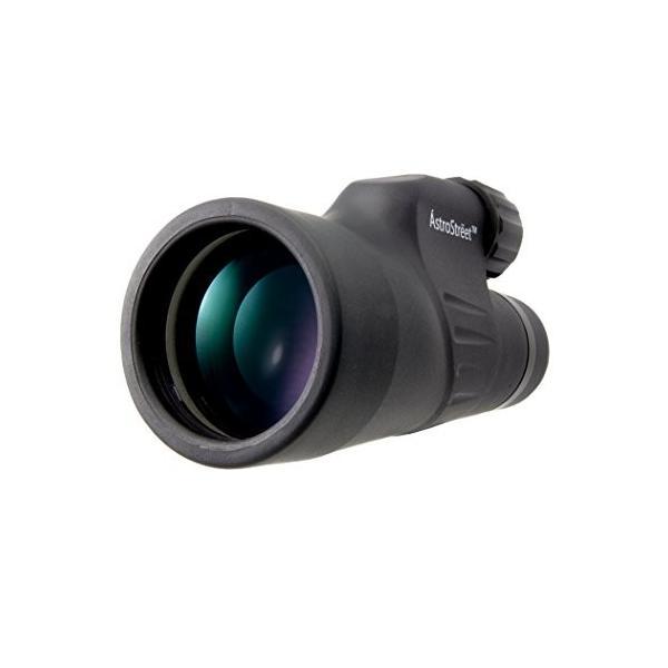 AstroStreet 12x50 ハイパワー単眼鏡 モノキュラー 12倍 50口径 明るく鮮明な視界 防水 曇り防止加工 バードウォッチン