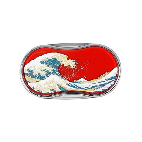 山中漆器 漆芸LEDルーペ 波(R) 石川県加賀市の「山中塗」
