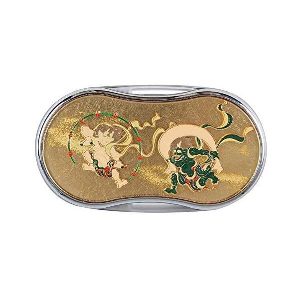 山中漆器 漆芸LEDルーペ 風神雷神(G) 石川県加賀市の「山中塗」